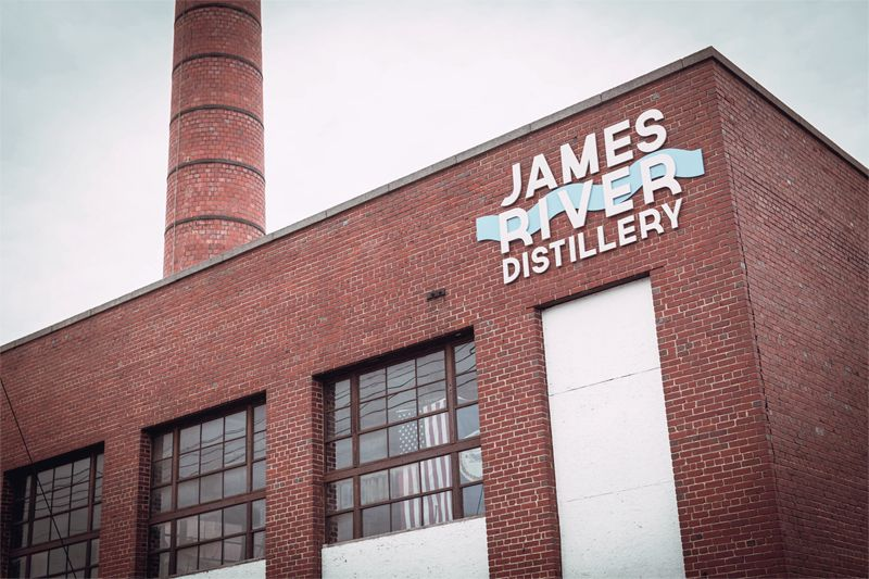 James River Distillery Building